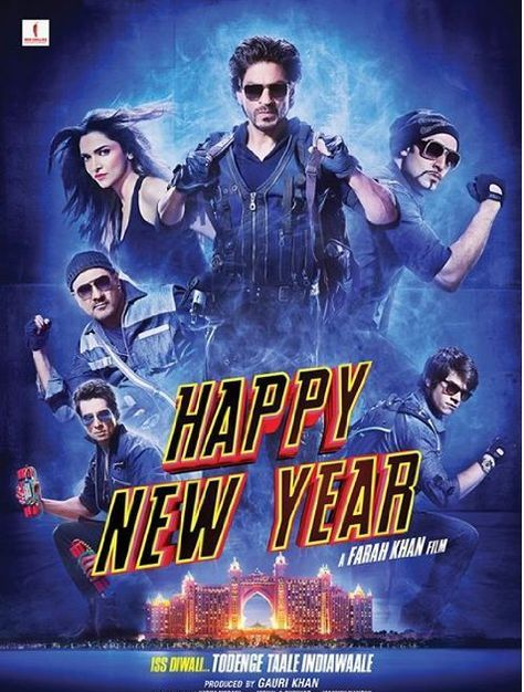Happy New Year 2014 Hindi 950mb 720p Dvdscrrip X264 Team Ddh Click Here To Download From Srvr 1 Happy New Year Movie New Year Movie Happy New Year Bollywood