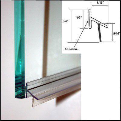Amazon Com Shower Door Drip Rail W Vhb Tape 33 Long Home Kitchen Shower Doors Shower Door Drip Rail Frameless Shower Doors