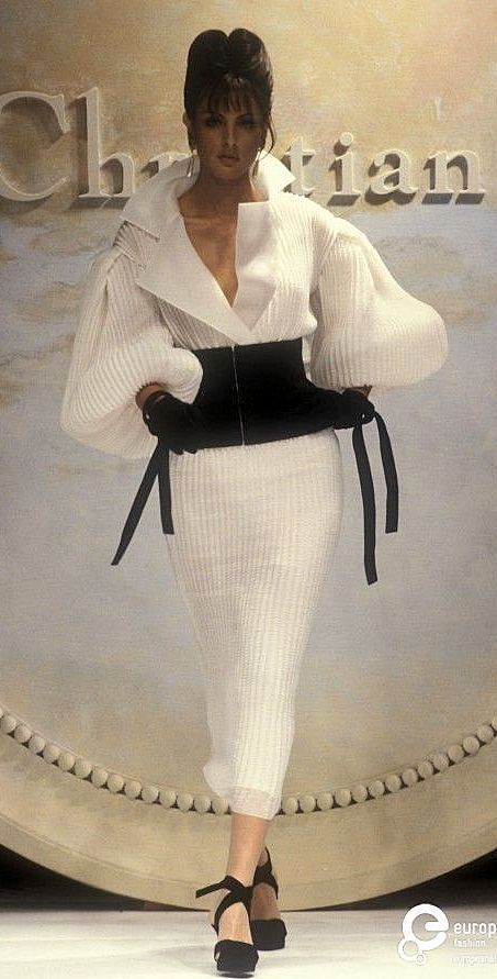 1993 Christian Dior, Spring -Summe, Couture - long striped blouse, summer blouses and tops, blouse with price *ad Source by summer