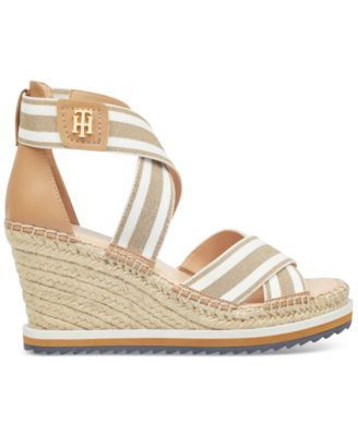 72cfef024 Tommy Hilfiger Yesia Espadrille Platform Wedge Sandals