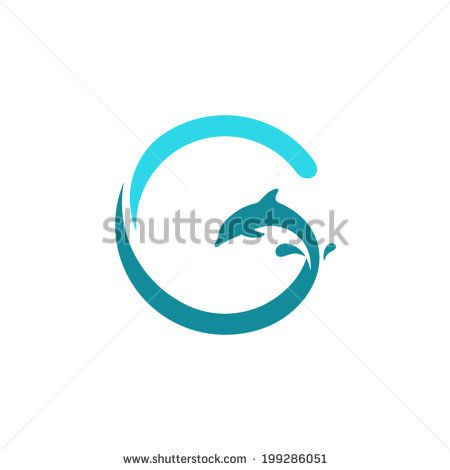 Sign the letter g dolphin on the wave water animal icon abstract sign the letter g dolphin on the wave water animal icon abstract alphabet font emblem branding identity corporate vector logo design template altavistaventures Gallery