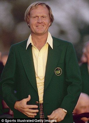 Jack Nicklaus Putting On The Green Jacket! #TheMasters ...