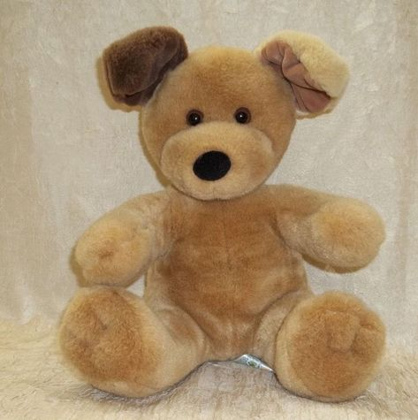960990ab316 Details about Build A Bear Soft Huggable Sitting Brown Puppy Dog Plush  Stuffed Animal