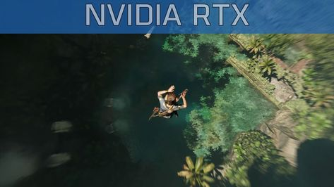 Shadow of the Tomb Raider - Gamescom 2018 NVIDIA RTX Trailer [4K