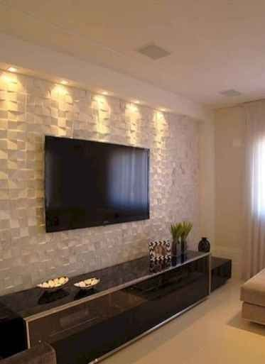 80 Amazing Living Room Tv Wall Decor Ideas And Remodel 80 Modern Tv Wall Decor Ideas Interiorzine Tv Wall Living Room Tiles Tv Wall Decor Living Room Tv Wall