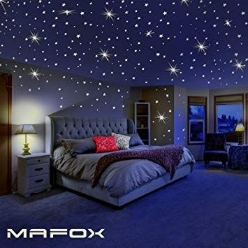 Glow in The Dark Stars for Ceiling or Wall Stickers