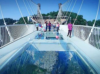 Zhangjiajie Glass Bridge Glass Bridge Zhangjiajie Cool Places To Visit