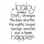 ...except when you've been up all night and want to choke your husband who sleeps through the baby crying fits! Lol