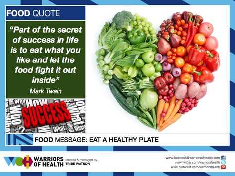 Food Quote Warriors Of Health Food Quotes Inspirational