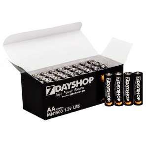 7dayshop Aa Lr6 High Power Alkaline Batteries Mega Value 40 Pack Alkaline Battery Power Higher Power