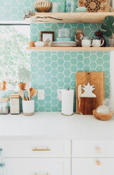 4 Tile Trends For 2018 Fireclay Tile Green Kitchen Backsplash