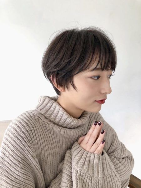 60代髪型 ショートのヘアカタログ Lala Magazine ララ マガジン ハンサムショート 髪型 ヘアスタイル