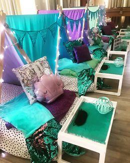 Mermaid Theme Party Sleepover Kalamunda Kalamunda Area