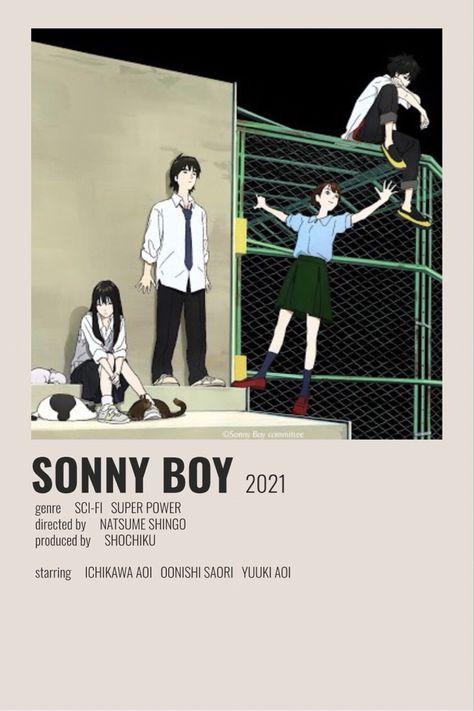 Sonny boy minimalist poster