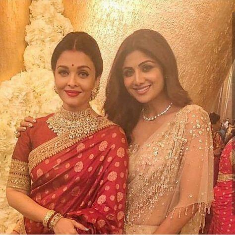 Aishwarya Rai and Shilpa Shetty