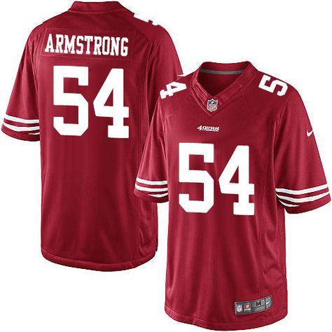 9cf6193dd Youth Nike San Francisco 49ers  54 Ray-Ray Armstrong Limited Red Team Color  NFL Jersey