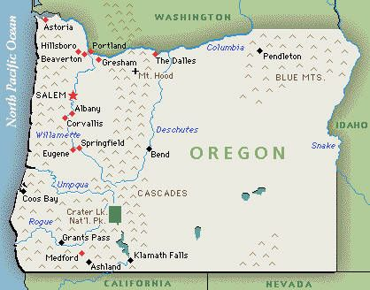 Oregons Leading Lice Removal Service Mobile Lice Salon Serving - Oregon waterfalls map