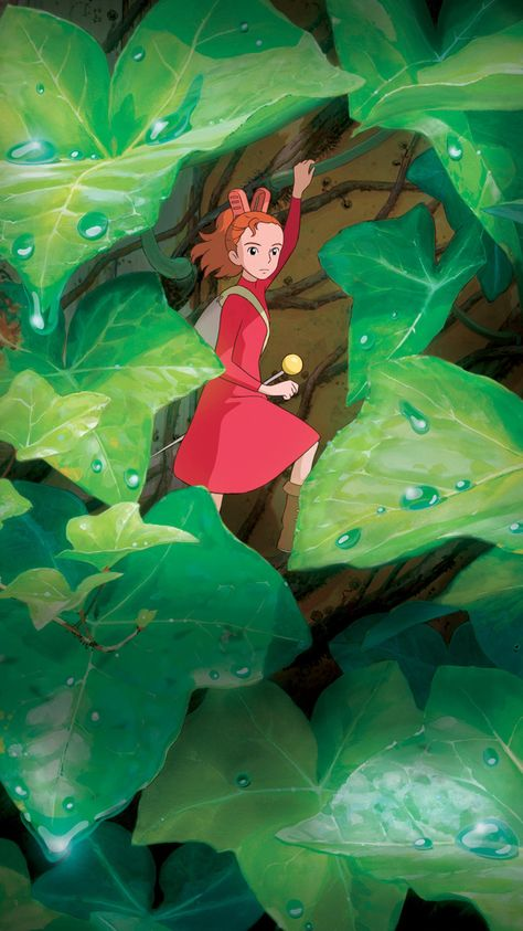 The Secret World of Arrietty (2010) Phone Wallpaper | Moviemania