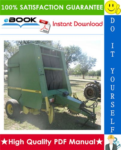 2019 的 This is the COMPLETE Technical Manual for the John Deere 430