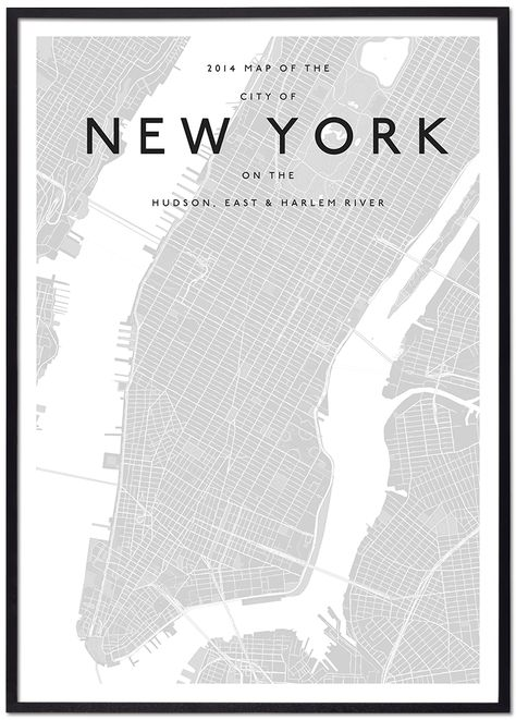 Modern New York Map Map Of New York New York City Map City Map