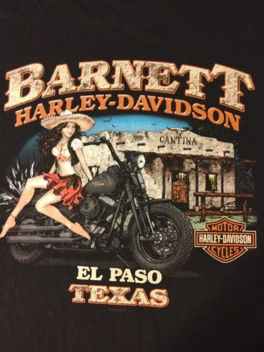 Harley Davidson Dealer Shirt Barnett Pinup Girl Very Rare Size 3xl Harley Davidson Dealers Harley Davidson Harley Davidson Art