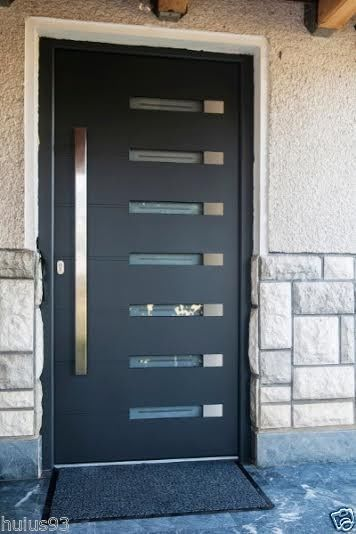 Modern Stainless Steel Entry Entrance Glass Timber Store Front ...