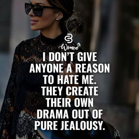 People create their own jealousy! | #1stInHealth #Motivation #Quotes #Inspiration #Success