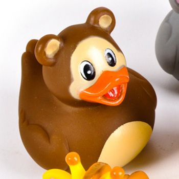 Zoo Animal Panda Rubber Ducky - $1.00 : Ducks Only!, Exclusively ...
