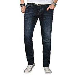 Barbons Herren Jeans Einführungspreis Bügelleicht Slim Fit Stretch Business Freizeit Hochwertige Jeans Hose