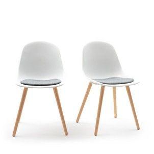Chaise Assise Coque Wapong Lot De 2 La Redoute Interieurs Chaise Chaise Chaise Design Chaises Bois
