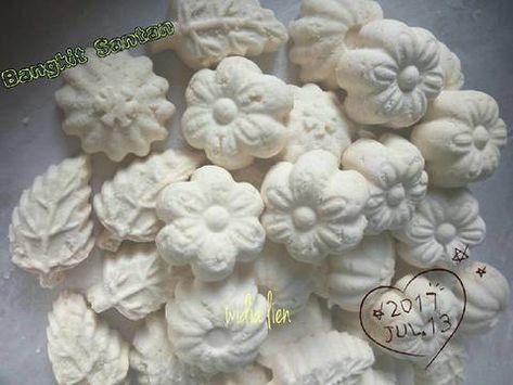 Resep Kue Bangkit Santan Oleh Widia Ningsih Liem Resep Resep Kue Resep Kue Tahun Baru