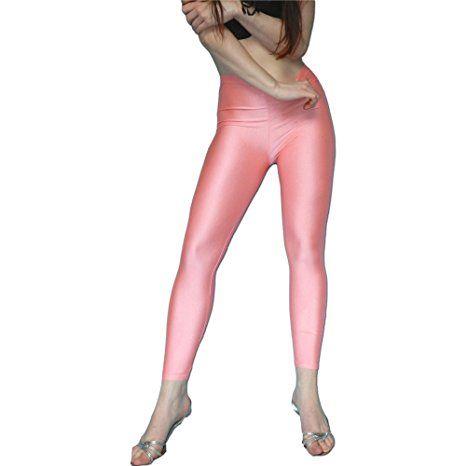 Dehnbare Übergroße Leggings Für Damen Coole Gothic Punk Leggings Aus Polyester