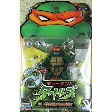 Playmates Tmnt 2003 Teenage Mutant Ninja Turtles Mike Michelangelo