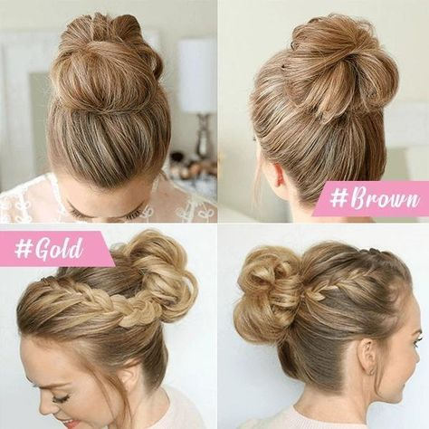 Easy-Bun Hair Scrunchies – Humble Household