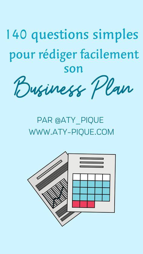 Business Plan, le petit guide de questions simples