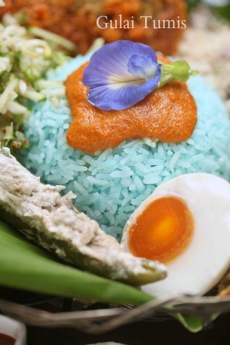 Resepi Nasi Kerabu Kelantan Yang Sangat Sedap Masam Manis Gulai Tumis