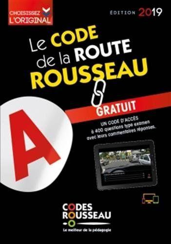 Code Rousseau De La Route B 2019 En Ligne En 2019