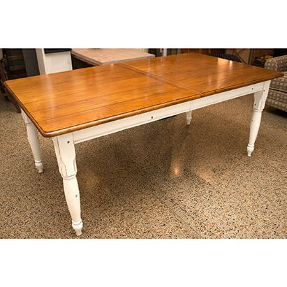 Drexel Studio Farmhouse Dining Table Featuring A Natural Classy Rectangle Dining Room Tables Design Decoration