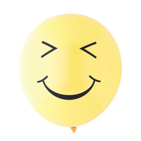 Smiley Emoji Balloons For An Themed Birthday Party See More Supplies At Shop Fancythat