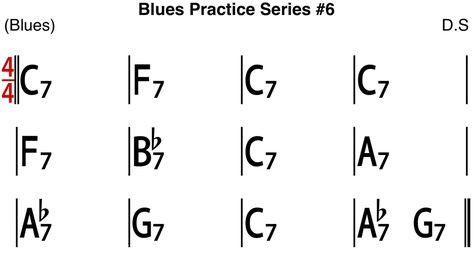 [Blues Practice Series] Blues #6 (Slow Blues in C Key