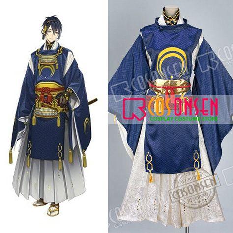 Cosonsen Touken Ranbu Mutsunokami Yoshiyuki Cosplay Costume Any Size