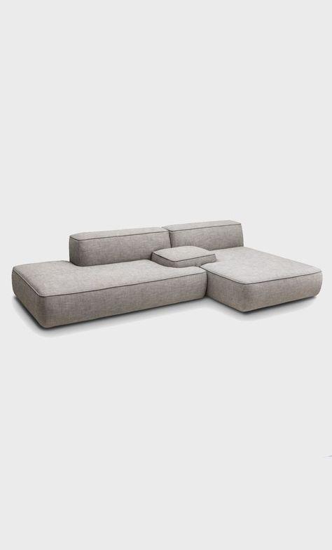 Modular sofa: no legs or really small low legs   Furniture Design    Pinterest   Modular sofa, Interiors and Modern