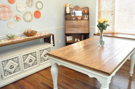 DIY Pottery Barn Farmhouse Table Knockoff