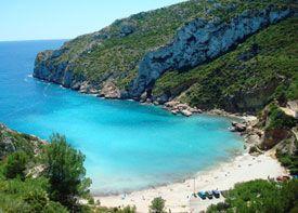 Granadella Beach Cap De La Nao Javea Vakantie Spanje