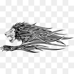 أسد أسد حيوان رأس سيد أسد رأس جانب Png وملف Psd للتحميل مجانا Lion Head Artwork Abstract Artwork