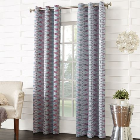 Solid Blackout Thermal Grommet Curtain Panels Set Of 2 Curtains Panel Curtains Contemporary Curtains