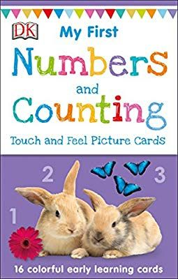 My First Touch And Feel Picture Cards Numbers And Counting My 1st T F Picture Cards Dk 9781465468154 Amaz Picture Cards Learning Cards Babies First Words