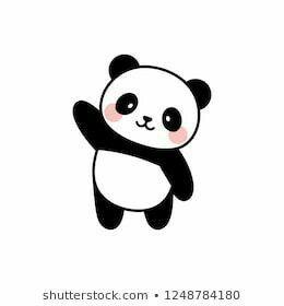 Pin Van Jennifer Moss Burniston Op Art Panda Tekening