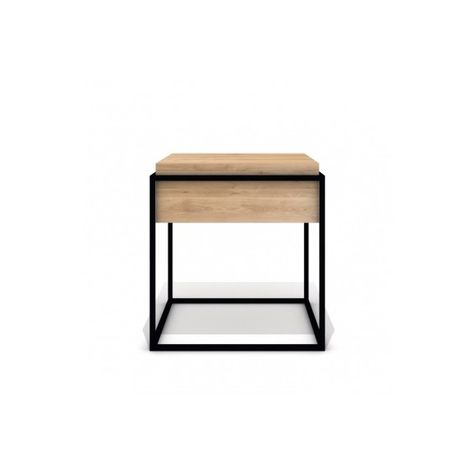 Table Basse Monolit Side Up Noire Small Ethnicraft