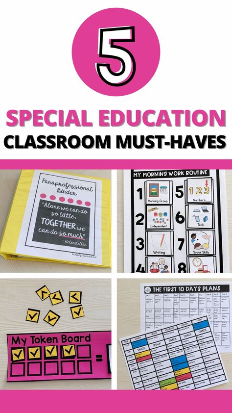 5 Special Education Classroom Must-Haves to Make Your Life Easier
